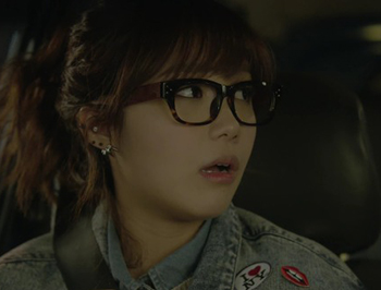 SAGAWAFUJII 郑恩地 (Jung Eun Ji) 豹纹大框眼镜